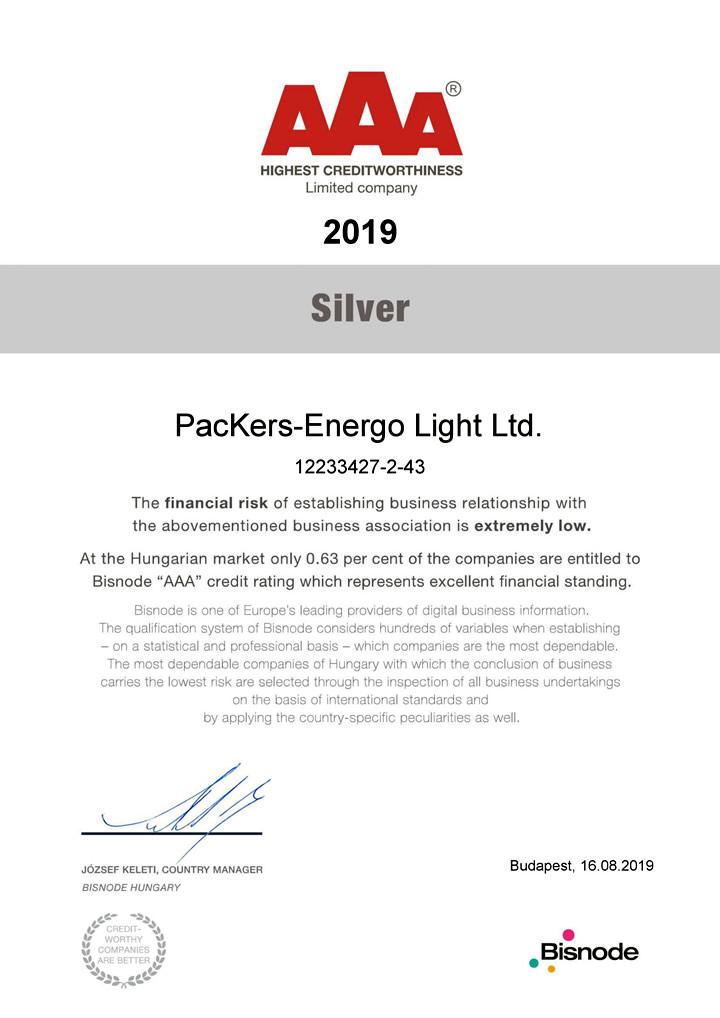 AAA GB PacKers-Energo Light Kf